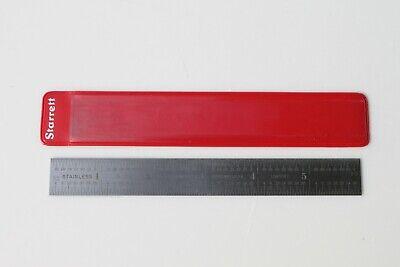 New Starrett 1604r-6 Rule 6 Inch Ruler Scale Machinist 1604-r 1604r Nos 612