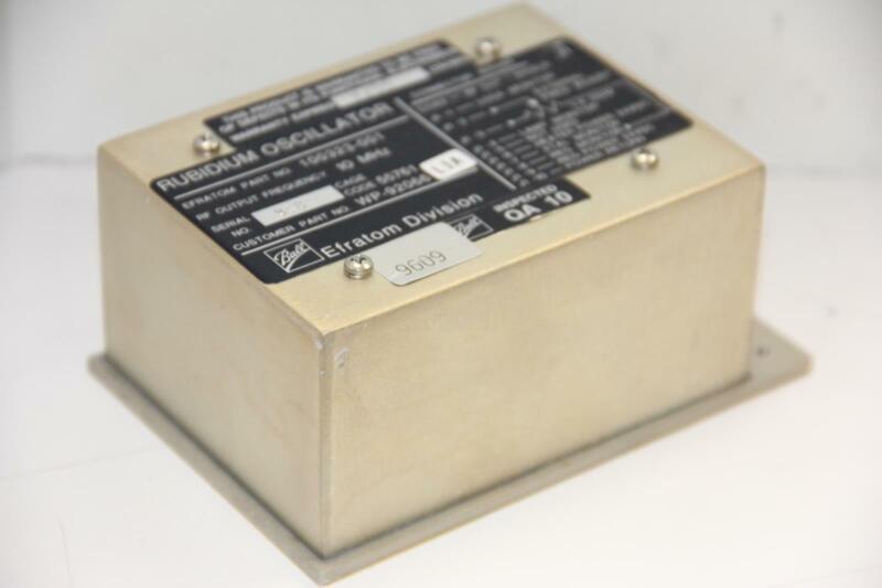 BALL Efratom Division 100323-001 WP-92066 10 MHz Rubidium Oscillator