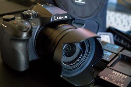 Panasonic Lumix DMC FZ300 (4K Video) Camera as new