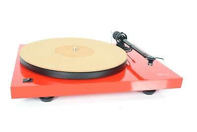 Pure Cork Audiophile Turntable Mat by Tuneful Cables for Vinyl Record -