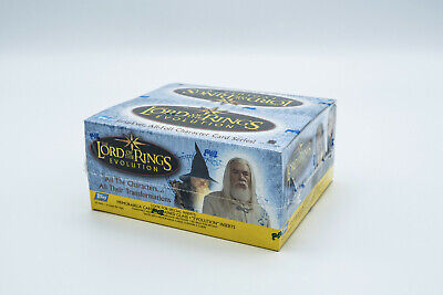 Lord of the Rings Topps Evolution RETAIL Box Memorabilia Cards Factory Sealed