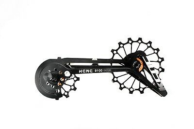 KCNC Road Bicycle Bike Oversize Pulley Cage System for Shimano r9100/r8000 Black