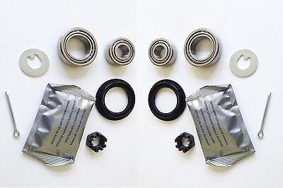Radlagersatz Radlager Satz Set Hinten für Opel Corsa D 2x Radnabe Van Adam