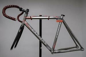 Carrera Track Frame Fixie Single Speed RRP $2500 As New Concord West Canada Bay Area Preview