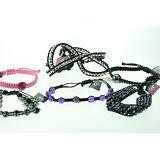 Wholesale Lot 20pcs New Assorted Cord Bead Crystal Macrame Shamballa Bracelet