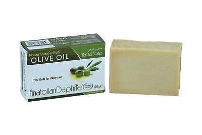 100% Natural Olive Oil Soap Bar Handmade Unprocessed Vegan Great for Body Hair 100% Olive Oil Soap