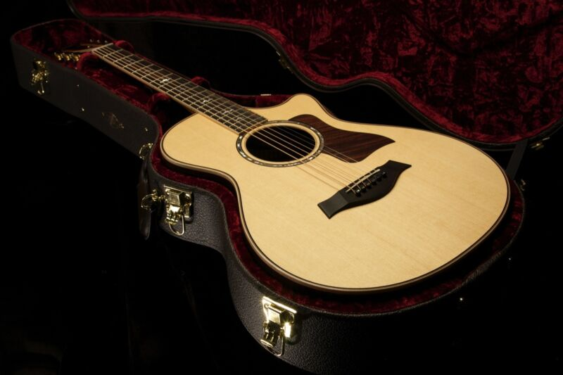 Taylor 812ce 12 Fret Es2 Acoustic Electric Guitar (109)