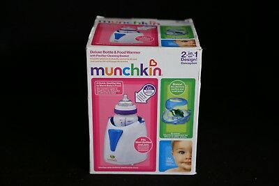 Munchkin Deluxe Baby Bottle & Food Warmer + Pacifier Cleaning Basket for sale  Shipping to India