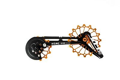 KCNC Road Cycling Bike Oversized Pulley System Cage for Shimano r9100/r8000 Gold