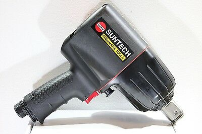 "New Suntech 1"" Drive Pneumatic Air Impact Wrench Twin Hammer 1500 ft-lb torque"
