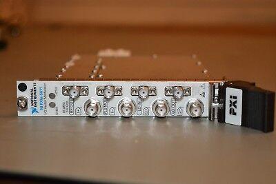 National Instruments Ni Pxie-5611 Rf Upconverter Moduleiq Vector Modulator