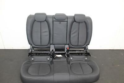 BMW 2-SERIES ACTIVE TOURER Leather Look MAYFAIR Black FRONT Car Seat Covers
