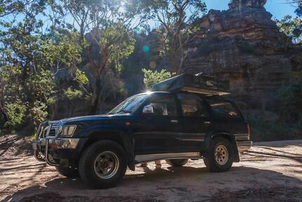 1993 Toyota Hilux Surf 4WD with roof top tent West Perth Perth City Preview