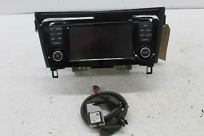 2017 J11 NISSAN QASHQAI Sat. Nav. Unit Satellite Navigation Head Unit 7513750220 gebraucht kaufen  Versand nach Germany