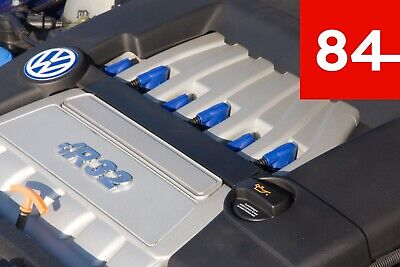 ++6x Zündspulen Kappe Cover Blau R36 R32 VR6 24V -  03H 971 921 A 03H971921A++
