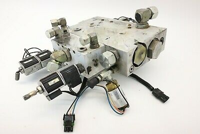 Hail Parker Directional Hydraulic Manifold W/ Solenoid 031-5986