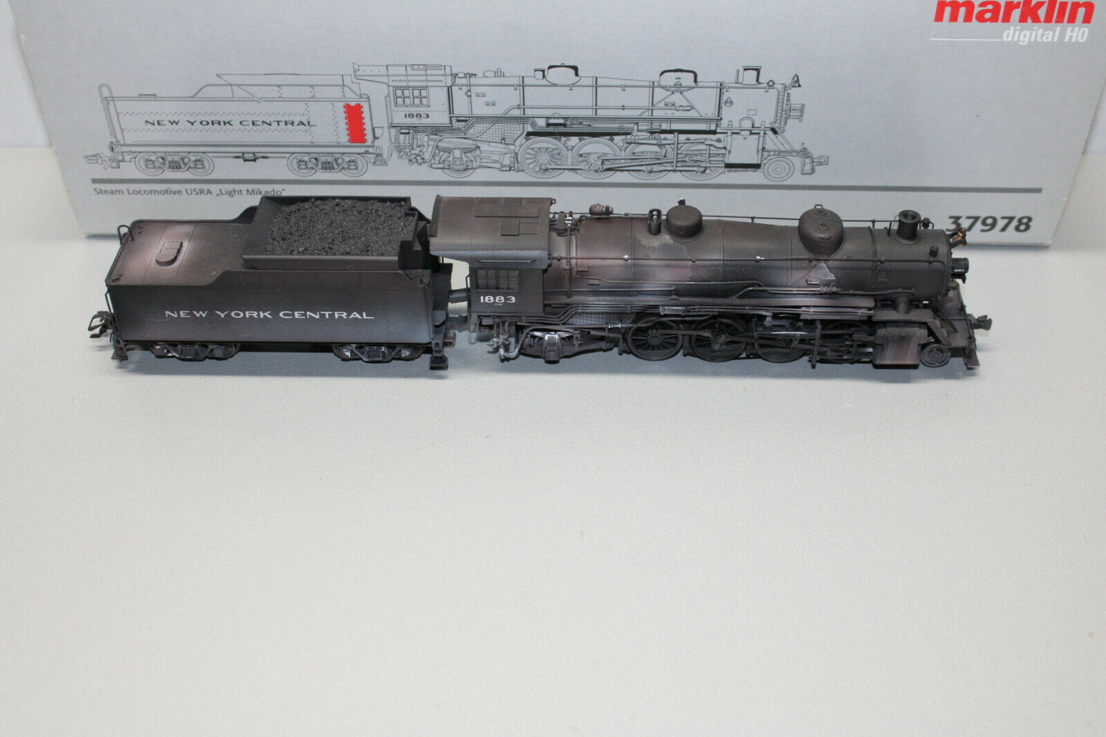 "Rivarossi HO HR2476 Dampflok 1975 der BBÖ US Zone ex USATC S100 Ep.III /""Neu AND"