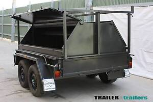 8x5 Tandem Tradesman Toolbox Trailer - Trailer & Trailers Thomastown Whittlesea Area Preview