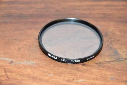 HANSA UV Lens Filter 58mm - EUC