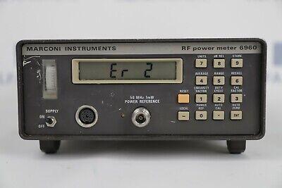 Marconi 6960 Rf Power Meter