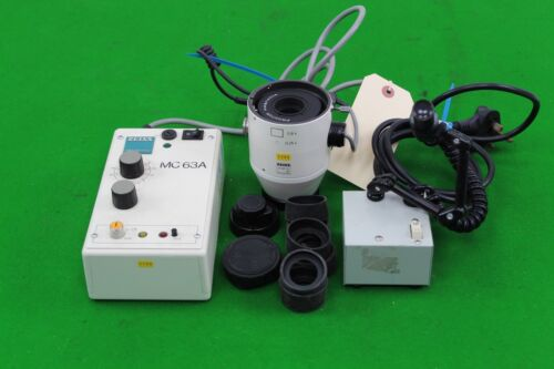 Carl zeiss mc a photomicrographic system controller mikroskop