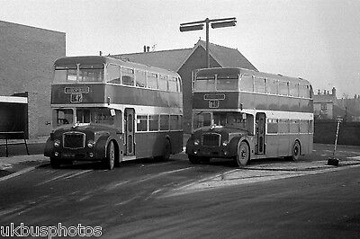 Midland General FLF's in Alfreton 1974 Bus Photo