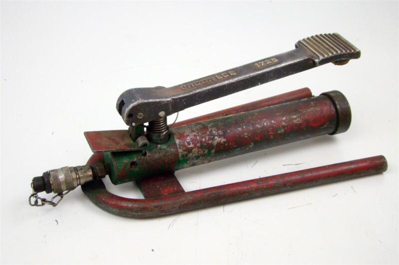 Greenlee Hydraulic Foot Pump , 1725