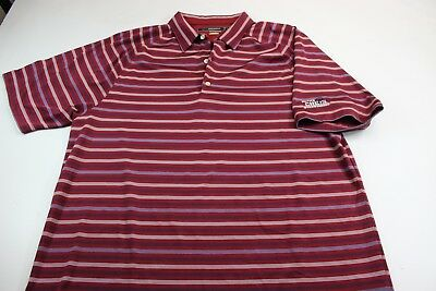 Greg Norman Embroidered Ruths Chris Steakhouse Polo Shirt Xl