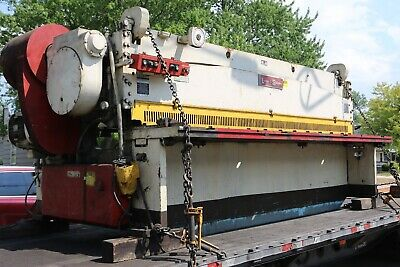 Lodge Shipley Model 0612 Mechanical Power Squaring Shear