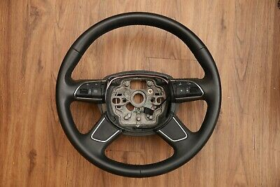 AUDI A6 C7 A7 4G A8 LEATHER STEERING WHEEL MULTIFUNCTION SWITCH