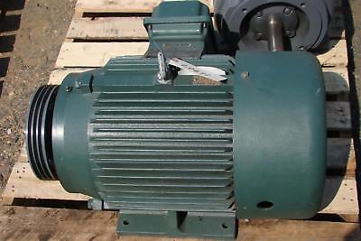 Allen-bradley Inverter Duty Motor 15hp 1750 Rpm 230460v 1329rs