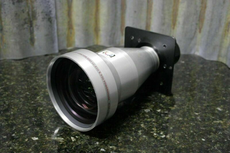 "RARE Buhl Optical 1.5"" Short Throw Xtra Bright Projector Lens For Eiki 818MCL015"
