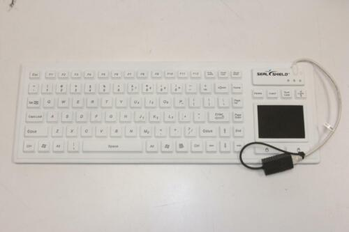 """SEAL SHIELD SW90PG2 Dishwasher-safe Waterproof Antimicrobial USB Keyboard """"NEW"""""""