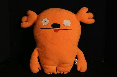 "Ugly Doll MRS. KASOOGI Orange 12"" Plush Toy Doll Uglydoll"