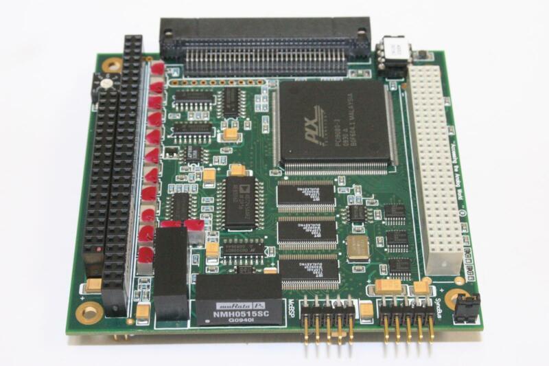 RTD EMBEDDED TECHNOLOGIES DM7520HR-8 PC/104-Plus 12-Bit Analog I/O DAQ Module