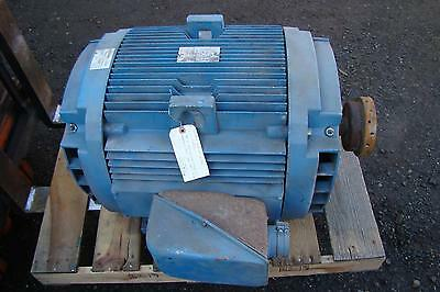 General Electric 100hp 3 Phase 230460 Volt Electric Motor 5k404al215c