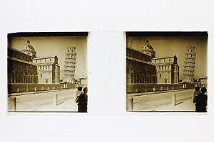 Italia-Pisa-Foto-Placca-P45L5n16-Lente-Positivo-Stereo