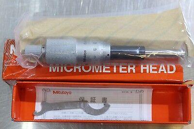 Mitutoyo Micrometer Head Middle Size Heavy Duty 0-25mm 0.001mm