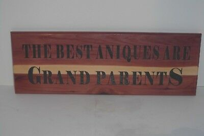 Hand made hand painted wood sign home wall decor. The best antiques are (Best Interior House Paint)