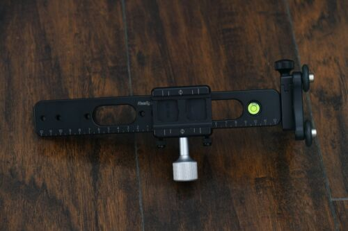 Really Right Stuff RRS Long Lens Support CB-YS-QR-Pkg dual quick release