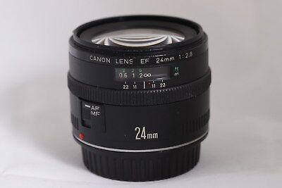 Canon EF 24mm f/2.8 EF Lens