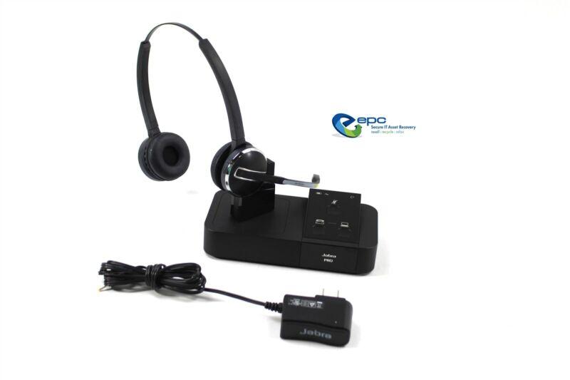 Jabra Pro 9450 Duo Flex Wireless Headset System Bundle 9450-69-707-105