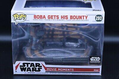 Funko POP! Star Wars Smuggler's Bounty Movie Moments BOBA GETS HIS BOUNTY #280