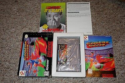 International Superstar Soccer  Super Nintendo Snes  1995  Complete Good Cc Iss