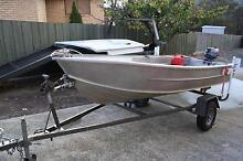 Dinghy,outboard & trailer. Mornington Clarence Area Preview