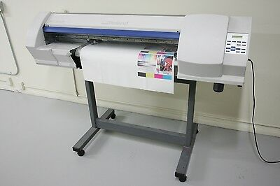 "Roland VersaCamm SP-300v , Wide Solvent Printer ""PRINT& CUT."""