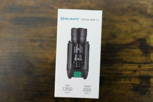 Olight Baldr Pro 1350 Lumens LED Weaponlight with Green Laser - Black