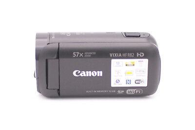 Canon VIXIA HF R82 32GB HD Flash Memory Video Camcorder - Black (US Model)