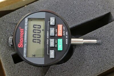 Starrett Wisdom Plus Digital Electronic Indicator 0-0.6 0-15mm 0.0005 0.01mm