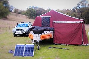 Johnno's Evolution Camper Trailer The Entrance North Wyong Area Preview